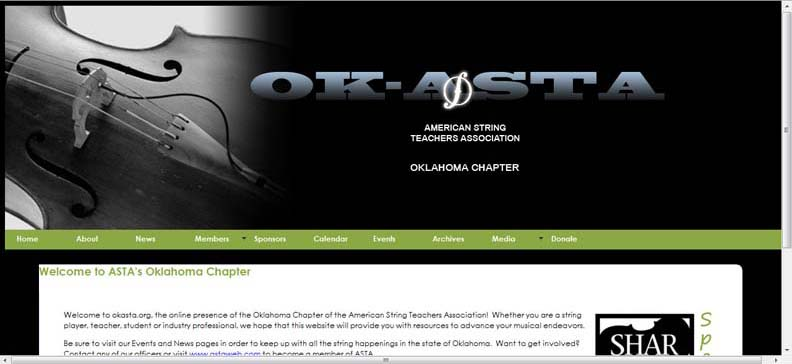 American String Teacher's Association - Oklahoma Chapter (OK-ASTA) (Past Project)