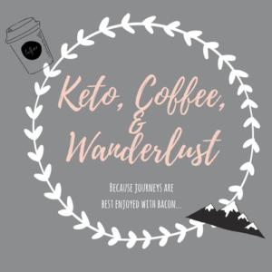 Keto Coffee & Wanderlust Logo